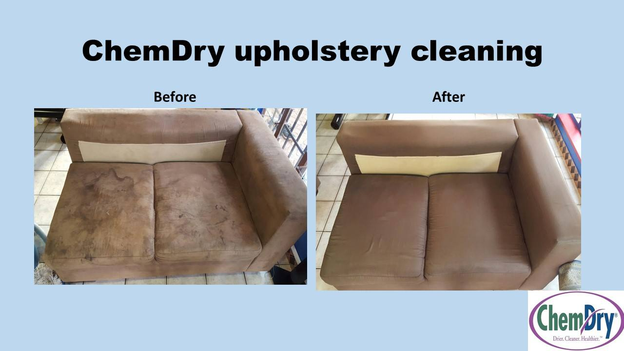 Chem Dry Pretoria Moot And North Before And After Cleaning